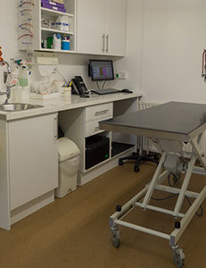 pets facilities - in-house lab