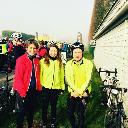 Frairs Moor cycling fundraiser