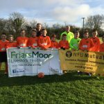 Friars Moor support local football team