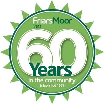 Friars Moor Vets 60 years in the community - established 1957