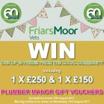 Friars Moor 60th Anniversary Prize Draw