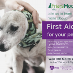 CLIENT EVENING - FIRST AID FOR YOUR PET